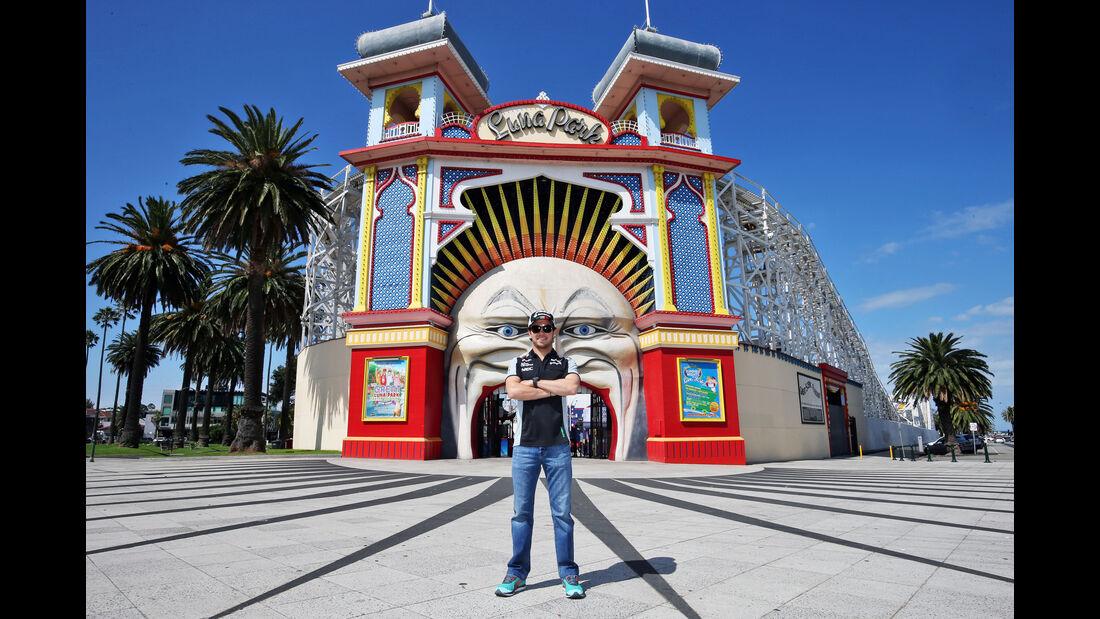 Sergio Perez - Force India - GP Australien - Melbourne - 15. März 2016