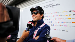 Sergio Perez - Force India - GP Belgien 2017 - Spa-Francorchamps - Donnerstag