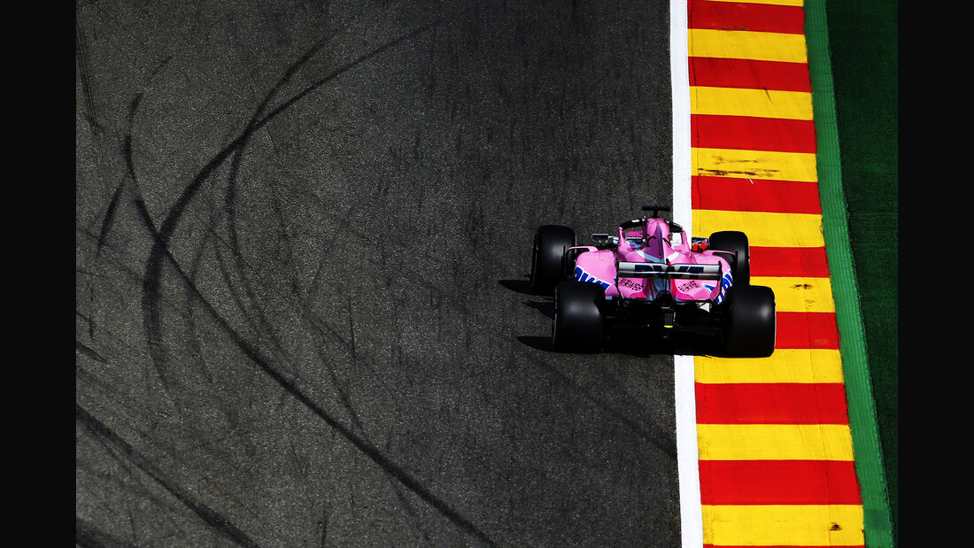 Sergio Perez - Force India - GP Belgien - Spa-Francorchamps - 24. August 2018