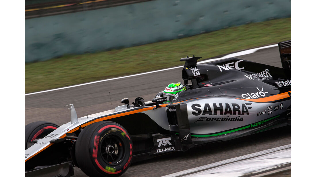 Sergio Perez - Force India - GP China 2016 - Shanghai - Qualifying - 16.4.2016