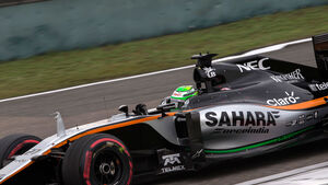 Sergio Perez - Force India - GP China 2016 - Shanghai - Qualifying - 16.4.2016