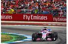 Sergio Perez - Force India - GP Deutschland 2018 - Rennen