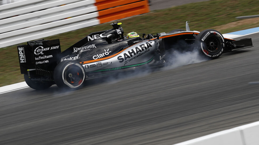 Sergio Perez - Force India - GP Deutschland - Formel 1 - 29. Juli 2016