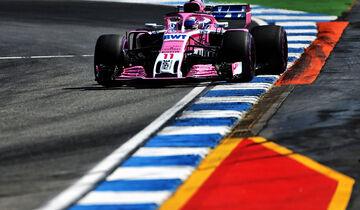 Sergio Perez - Force India - GP Deutschland - Hockenheim - Formel 1 - Freitag - 20.7.2018