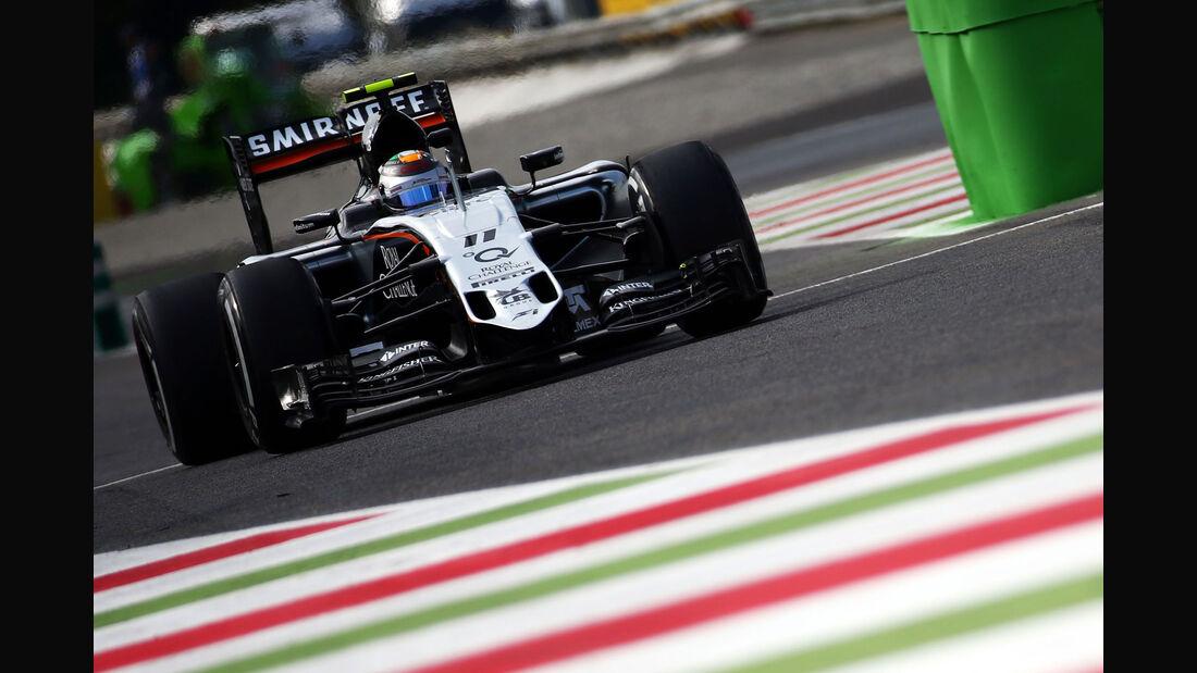 Sergio Perez - Force India - GP Italien - Monza - Freitag - 4.9.2015