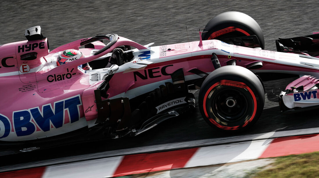 Sergio Perez - Force India - GP Japan 2018 - Suzuka - Rennen