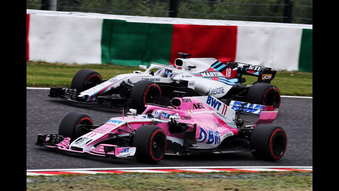 Sergio Perez - Force India - GP Japan - Suzuka - Formel 1 - Freitag - 5.10.2018