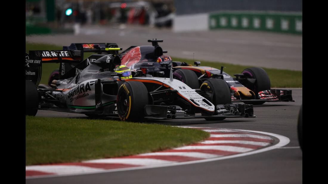 Sergio Perez - Force India - GP Kanada 2016 - Montreal