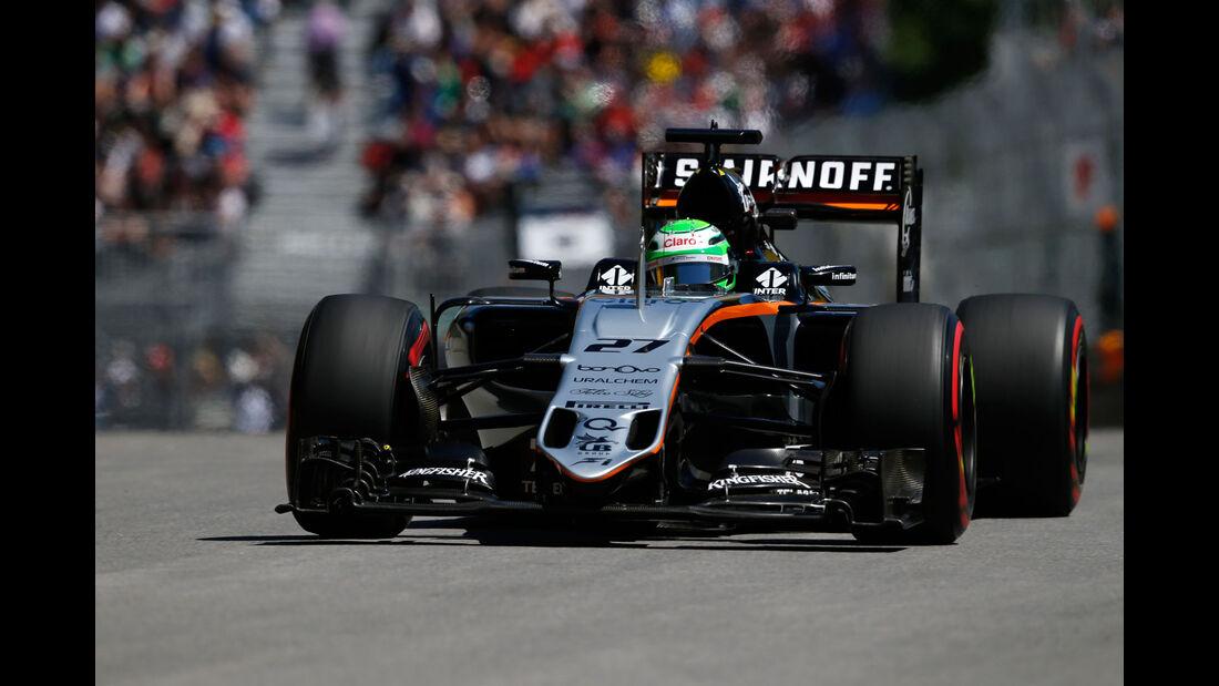Sergio Perez - Force India - GP Kanada - Montreal - Freitag - 10.6.2016