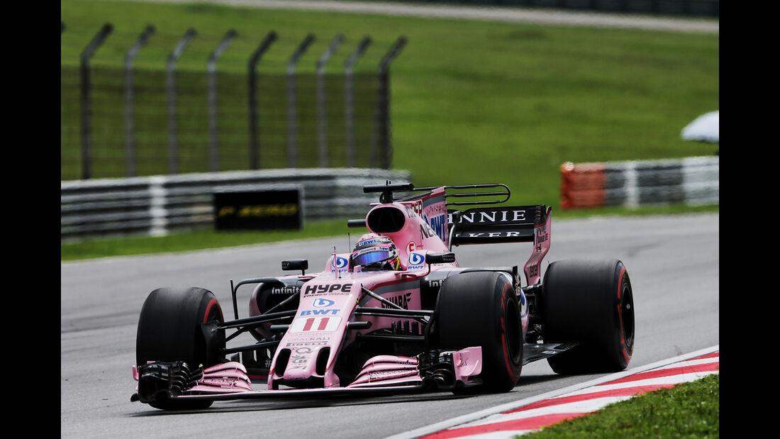 Sergio Perez - Force India - GP Malaysia 2017 - Sepang