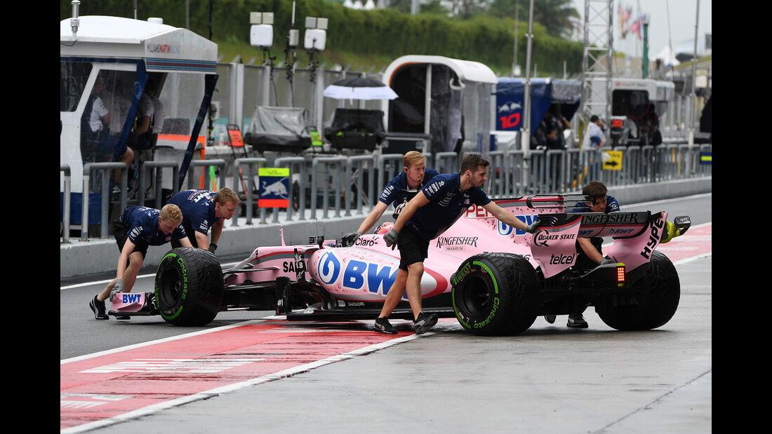 Sergio Perez - Force India - GP Malaysia - Sepang - 29. Oktober 2017