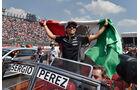 Sergio Perez - Force India - GP Mexiko 2015