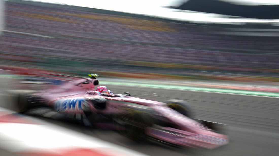 Sergio Perez - Force India - GP Mexiko 2017 - Rennen