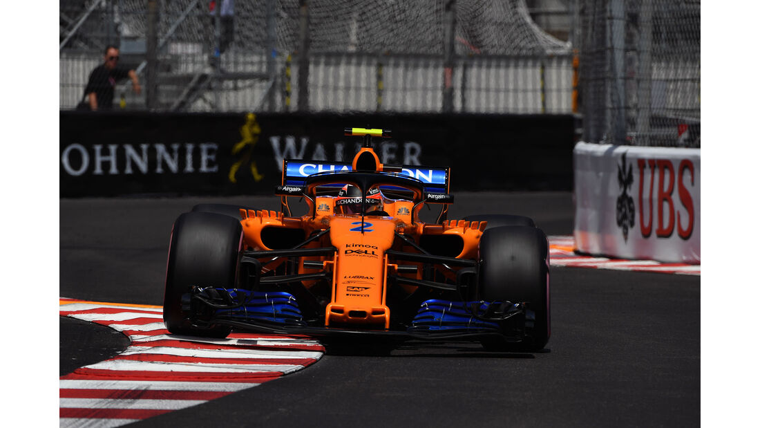 Sergio Perez - Force India - GP Monaco - Formel 1 - Samstag - 26.5.2018