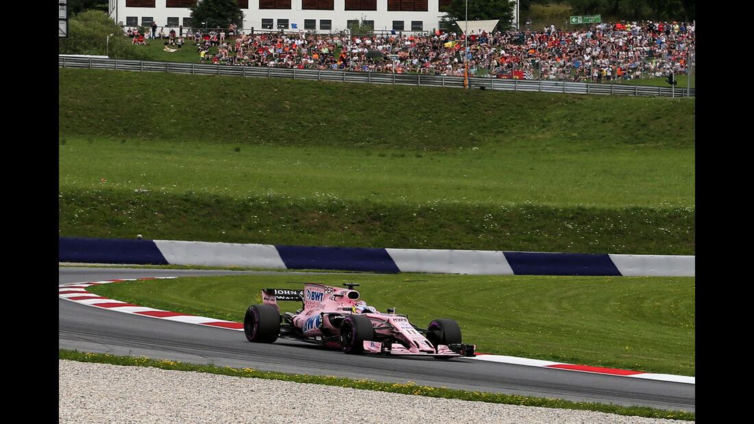Sergio Perez - Force India - GP Österreich 2017 - Spielberg - Qualifying