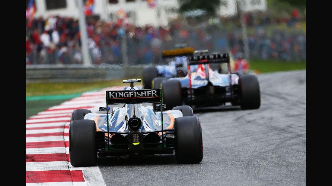 Sergio Perez - Force India - GP Österreich - Formel 1 - Sonntag - 21.6.2015