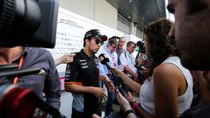 Sergio Perez - Force India - GP Österreich - Spielberg - Donnerstag - 6.7.2017