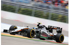 Sergio Perez - Force India - GP Russland 2015 - Sochi - Rennen