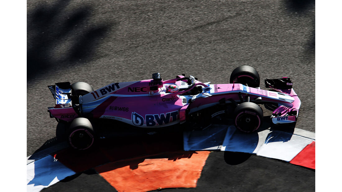 Sergio Perez - Force India - GP Russland 2018 - Sotschi - Qualifying