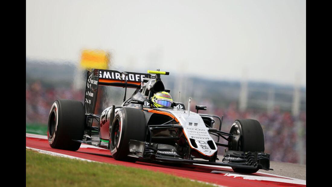 Sergio Perez - Force India - GP USA 2016