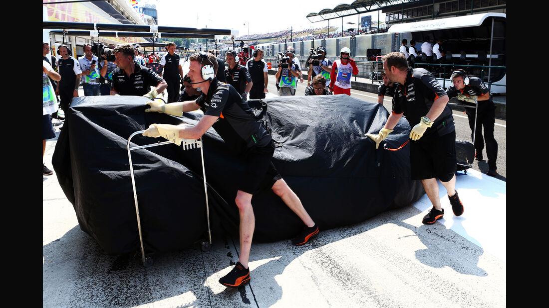 Sergio Perez - Force India - GP Ungarn 2015