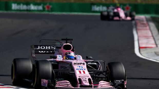 Sergio Perez - Force India - GP Ungarn 2017 - Budapest - Rennen