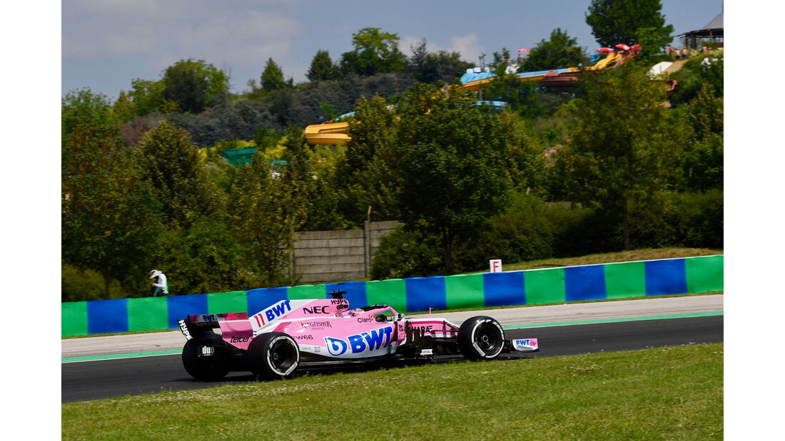 Sergio Perez - Force India - GP Ungarn - Budapest - Formel 1 - 27.7.2018