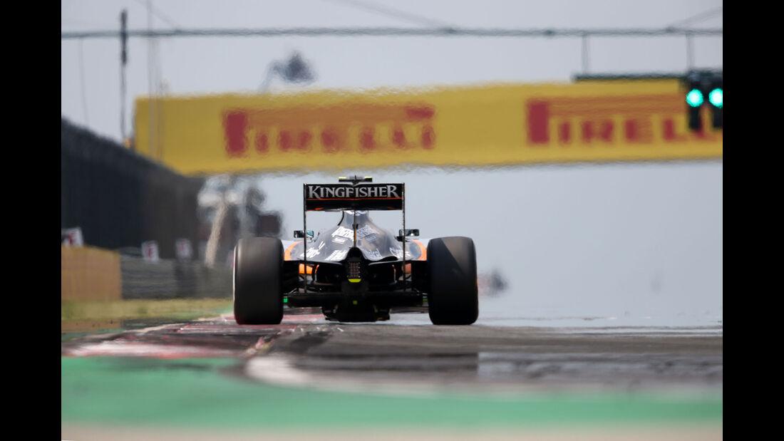 Sergio Perez - Force India - GP Ungarn - Budapest - Qualifying - Samstag - 25.7.2015