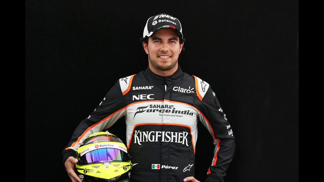 Sergio Perez - Force India - Porträt - Formel 1 - 2016