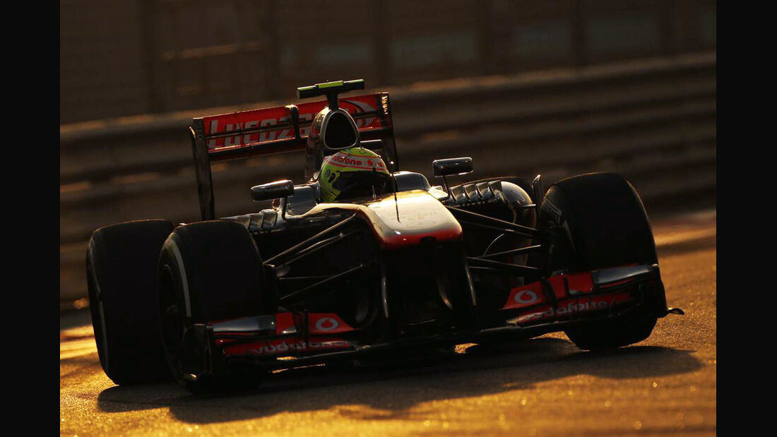 Sergio Perez - Formel 1 - GP Abu Dhabi - 02. November 2013