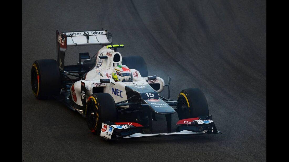 Sergio Perez  - Formel 1 - GP Abu Dhabi - 04. November 2012