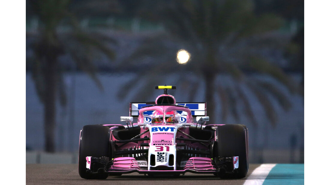 Sergio Perez - Formel 1 - GP Abu Dhabi 2018
