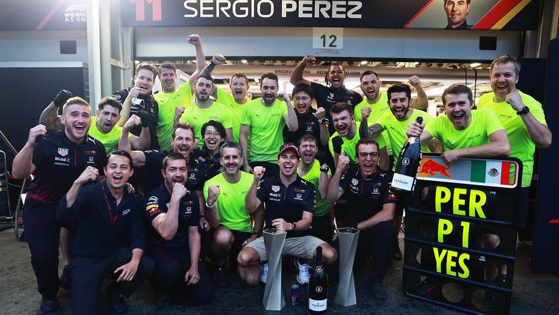Sergio Perez - Formel 1 - GP Aserbaidschan 2021