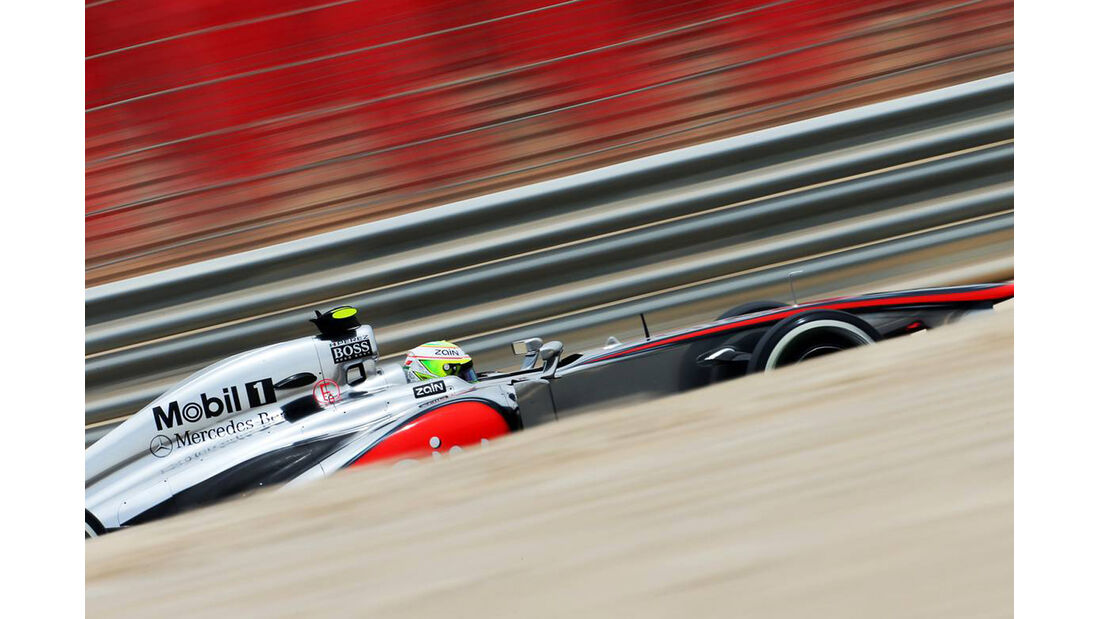 Sergio Perez - Formel 1 - GP Bahrain - 20. April 2013