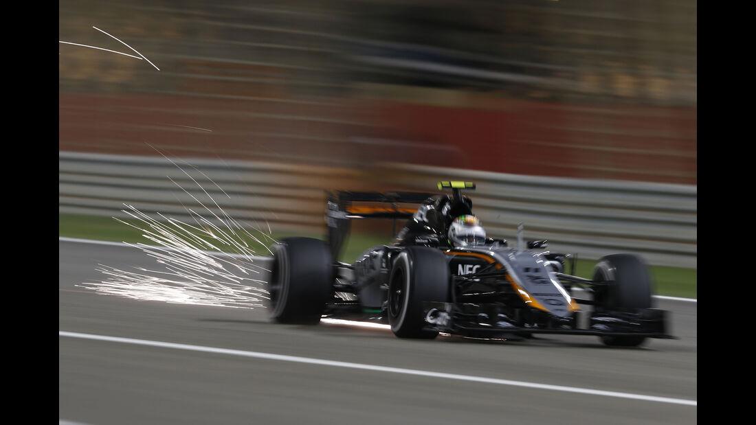 Sergio Perez - Formel 1 - GP Bahrain 2015