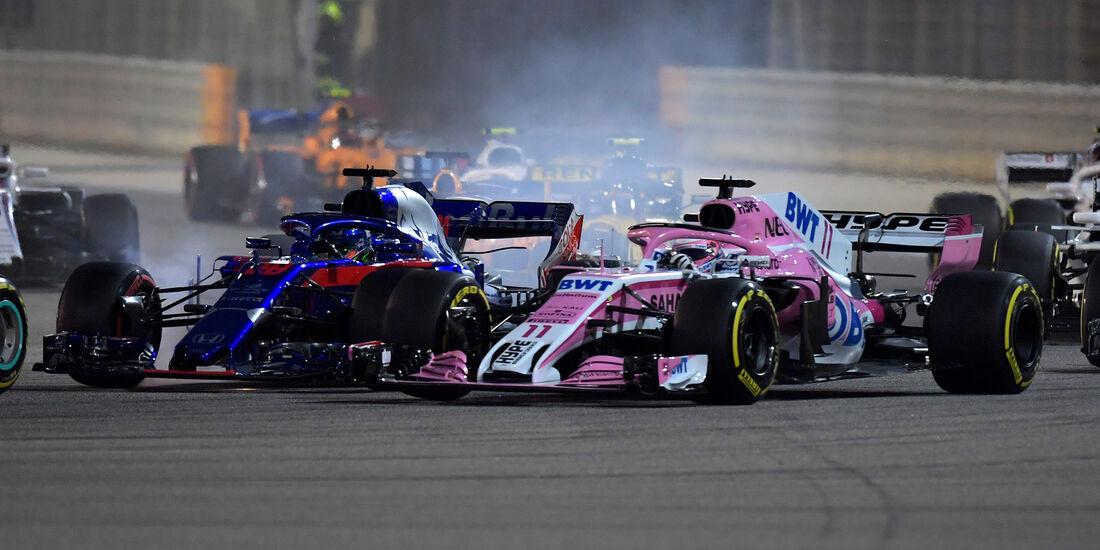 Sergio Perez - Formel 1 - GP Bahrain 2018