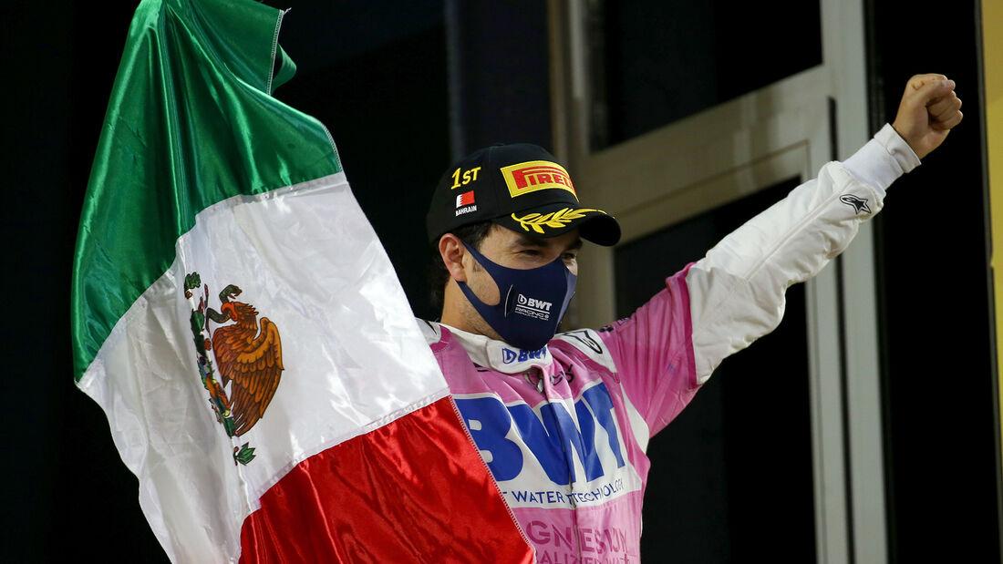 Sergio Perez - Formel 1 - GP Bahrain 2019