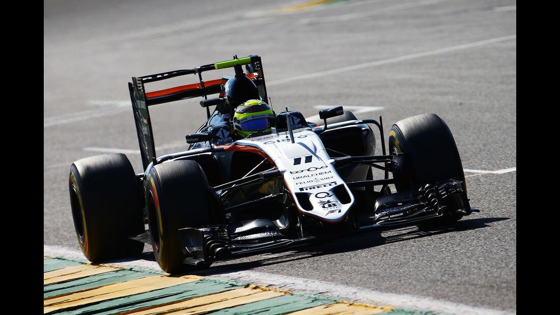 Sergio Perez - Formel 1  - GP Belgien 2016
