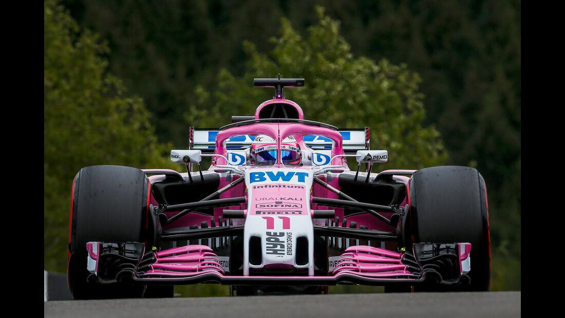 Sergio Perez - Formel 1 - GP Belgien 2018
