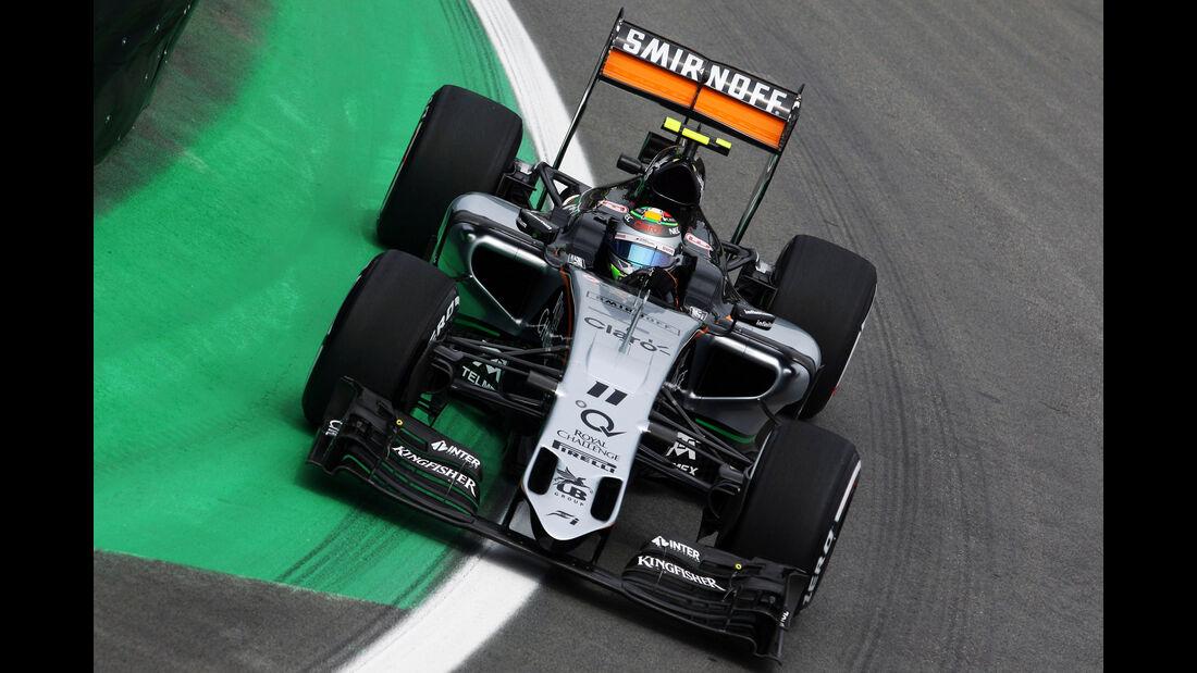 Sergio Perez  Formel 1 - GP Brasilien- 13. November 2015