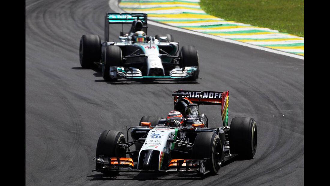 Sergio Perez - Formel 1 - GP Brasilien - 9. November 2014