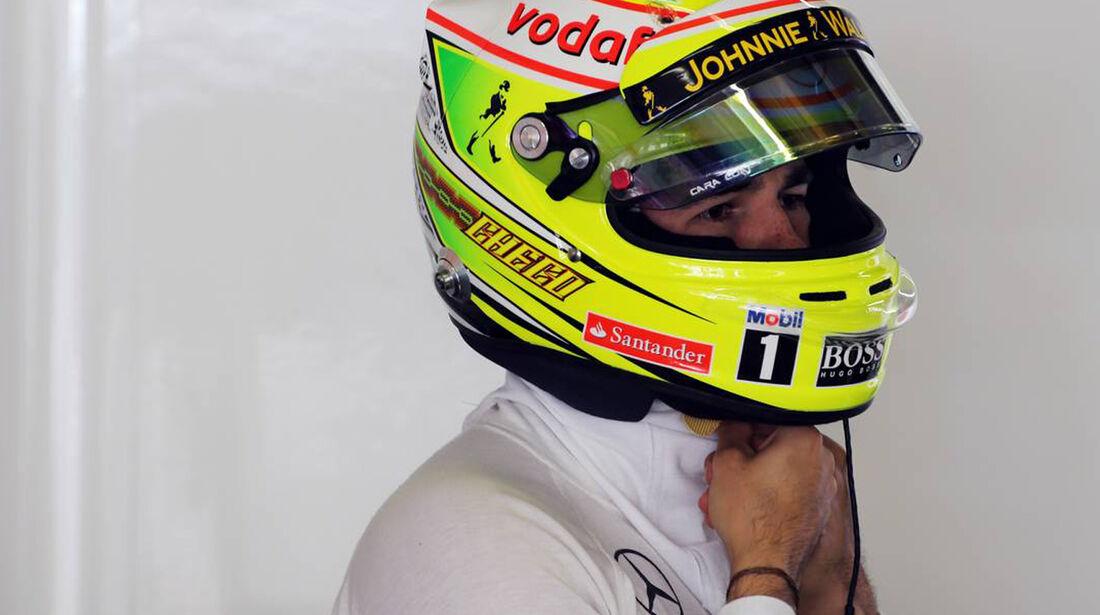 Sergio Perez - Formel 1 - GP China - 12. April 2013