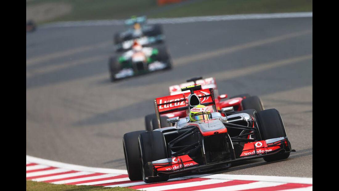 Sergio Perez - Formel 1 - GP China - 14. April 2013