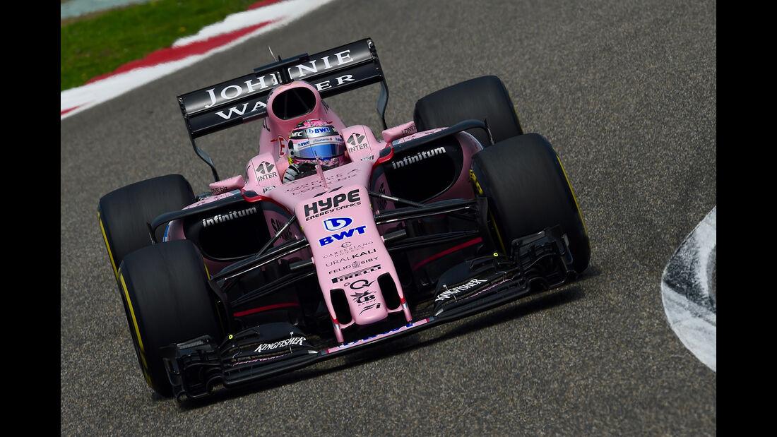 Sergio Perez - Formel 1 - GP China 2017