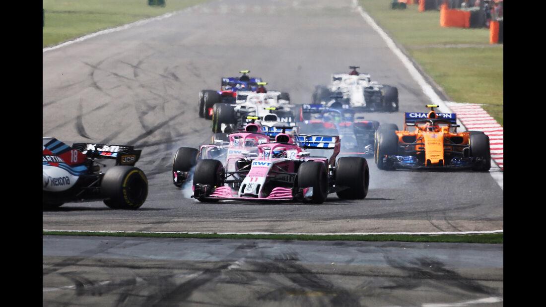 Sergio Perez - Formel 1 - GP China 2018