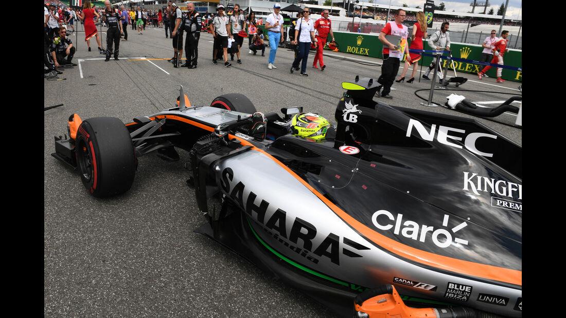 Sergio Perez - Formel 1 - GP Deutschland 2016