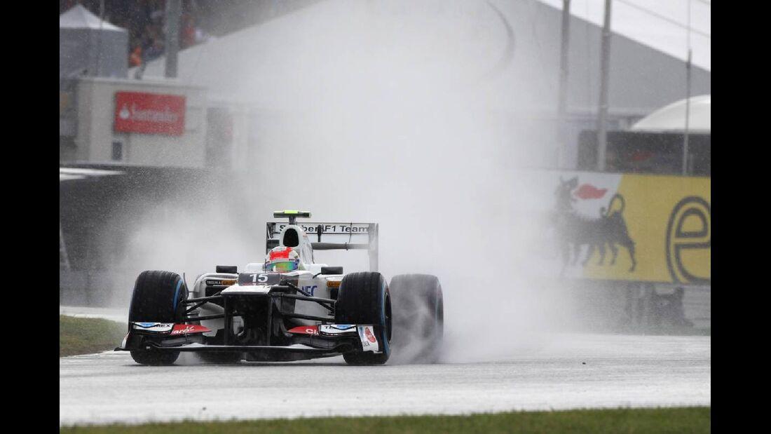 Sergio Perez - Formel 1 - GP Deutschland - 21. Juli 2012