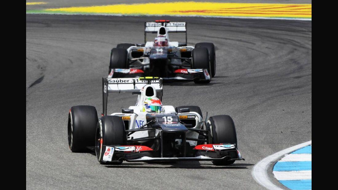 Sergio Perez - Formel 1 - GP Deutschland - 22. Juli 2012