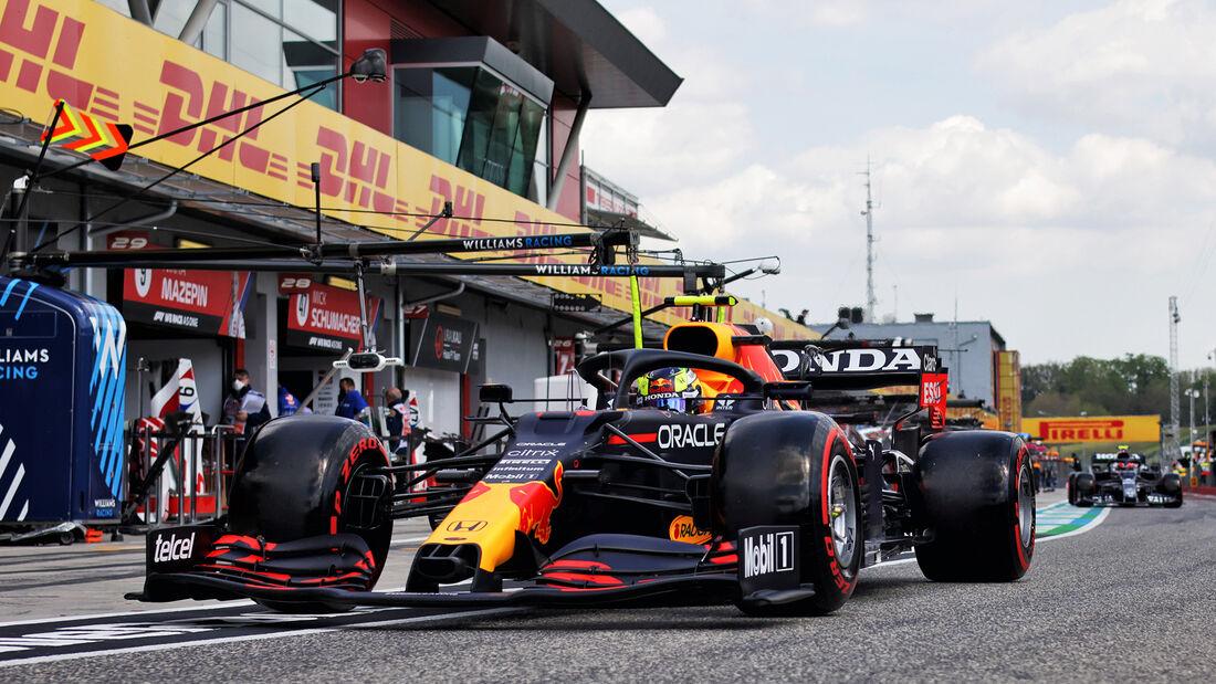 Sergio Perez - Formel 1 - GP Emilia Romagna - Imola 2021