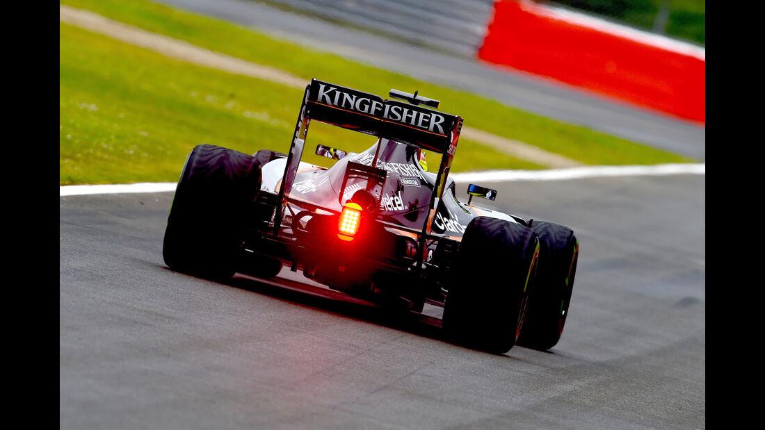 Sergio Perez - Formel 1 - GP England 2016